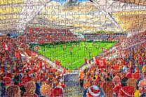Ashton Gate Stadium Fine Art Jigsaw Puzzle - Bristol City Football Club