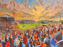 Somerset Park Stadium Fine Art Print - Ayr United Football Club
