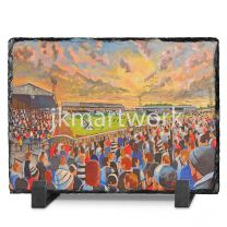 Somerset Park Stadium Fine Art Slate Presentation - Ayr United Football Club