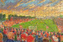 Belle Vue Stadium Fine Art Jigsaw Puzzle - Doncaster Rovers Football Club