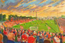 Belle Vue Stadium Fine Art Print  - Doncaster Rovers Football Club