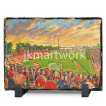 Bellevue Stadium Fine Art Slate Presentation - Doncaster Rovers Football Club
