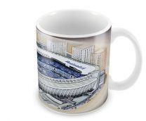 Bernabeu Stadia Fine Art Ceramic Mug - Real Madrid CF