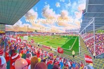 Bescot Stadium Fine Art Print - Walsall Football Club