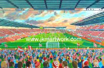 Britannia Stadium(Bet 365) Fine Art Print - Stoke City Football Club