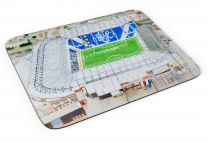 St Andrews Stadia Fine Art Mouse Mat - Birmingham City Football Club