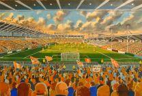 Bloomfield Road Stadium Fine Art Print - Blackpool Football Club