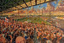 Boothferry Park Stadium Fine Art Jigsaw Puzzle - Hull City Football Club
