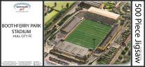 Boothferry Park Stadia Fine Art Jigsaw Puzzle - Hull City Football Club