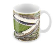 Boundary Park Stadium Fine Art Ceramic Mug - Oldham Athletic Football Club