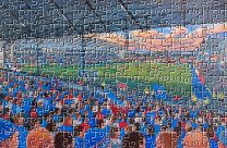 Boundary Park Stadium Fine Art Jigsaw Puzzle - Oldham Athletic Football Club
