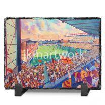 Valley Parade Stadium Fine Art Slate Presentation - Bradford City Football Club