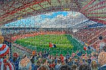 Bramall Lane Stadium Fine Art Jigsaw Puzzle - Sheffield United Football Club