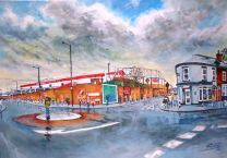Bramall Lane Stadium GTM Fine Art Print - Sheffield United Football Club
