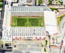 Bramall Lane Stadia Fine Art Print - Sheffield United Football Club