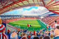 Bramall Lane Stadium Fine Art Print - Sheffield United Football Club