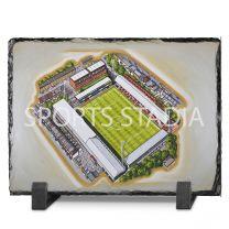Griffin Park Stadium Fine Art Slate Presentation - Brentford Football Club