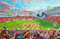 Brentford Community Stadium Fine Art Print - Brentford Football Club