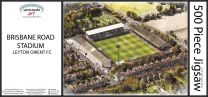 Brisbane Road Stadia Fine Art Jigsaw Puzzle - Leyton Orient Football Club