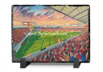 Brisbane Road(Matchroom) Stadium Fine Art Slate Presentation - Leyton Orient Football Club