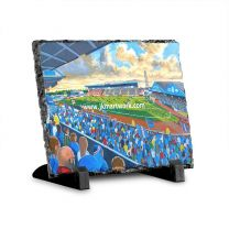 Brunton Park Stadium Fine Art Slate Presentation - Carlisle United Football Club