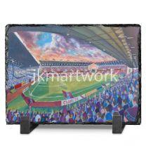 Turf Moor Stadium Fine Art Slate Presentation - Burnley Football Club
