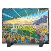 Pirelli Stadium Fine Art Slate Presentation - Burton Albion Football Club
