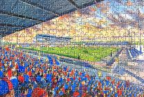 Caledonian Stadium Fine Art Jigsaw Puzzle - Inverness Caledonian Thistle Football Club