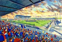 Caledonian Stadium Fine Art Print - Inverness Caledonian Thistle Football Club