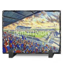 Caledonian Stadium Fine Art Slate Presentation - Inverness Caledonian Thistle Football Club