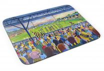 Abbey Stadium Fine Art Mouse Mat - Cambridge United Football Club