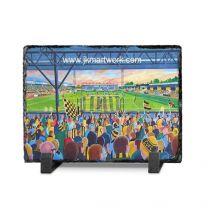 Abbey Stadium Fine Art Slate Presentation - Cambridge United Football Club
