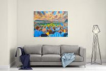 Highfield Road Stadium Fine Art Canvas Print - Coventry City Football Club