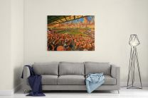 Boothferry Park Stadium Fine Art Canvas Print - Hull City Football Club