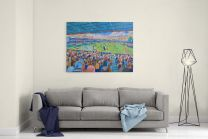 Kenilworth Road Stadium Fine Art Canvas Print - Luton Town Football Club