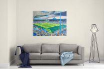 Hillsborough Stadium Fine Art Canvas Print - Sheffield Wednesday Football Club