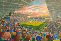 Cardiff City Stadium Fine Art Print - Cardiff City Football Club