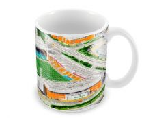 Carrow Road Stadia Fine Art Ceramic Mug - Norwich City Football Club