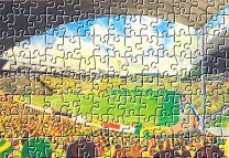 Carrow Road Stadium Fine Art Jigsaw Puzzle - Norwich City Football Club