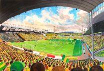 Carrow Road Stadium Fine Art Print - Norwich City Football Club
