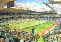 Celtic Park Stadium Fine Art Print - Celtic Football Club