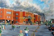 Celtic Park Stadium(Going to the Game) Fine Art Print - Celtic Football Club