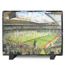 Parkhead Stadium Fine Art Slate Presentation - Celtic Football Club