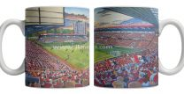 The Valley Stadium Fine Art Ceramic Mug - Charlton Athletic Football Club