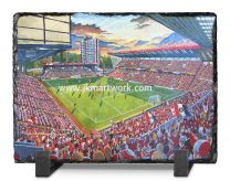 The Valley Stadium Fine Art Slate Presentation - Charlton Athletic Football Club