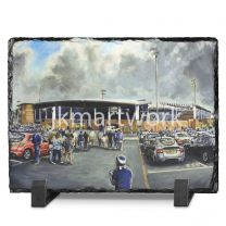 Proact Stadium 'Going to the Match' Fine Art Slate Presentation - Chesterfield Football Club