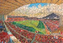 City Ground Stadium Fine Art Jigsaw Puzzle - Nottingham Forest Football Club