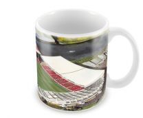 City Ground Stadia Fine Art Ceramic Mug - Nottingham Forest Football Club