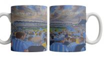 Highfield Road Stadium Fine Art Ceramic Mug - Coventry City Football Club