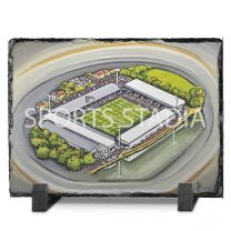 Craven Cottage Stadium Fine Art Slate Presentation - Fulham Football Club